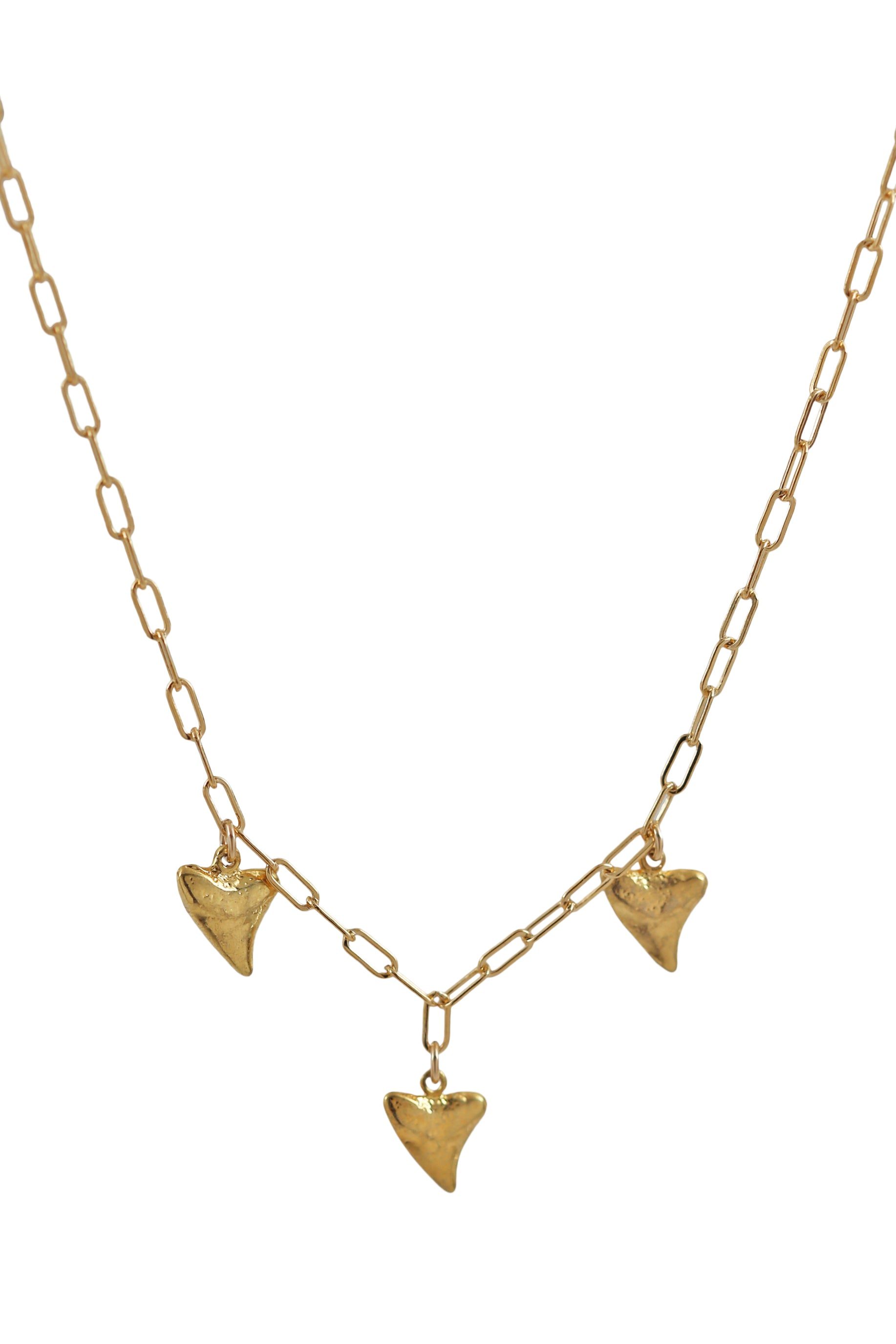 shark tooth trio choker