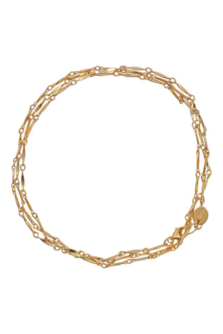 marquise gold chain