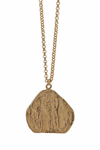 antique roman coin necklace