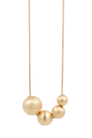 dots trio necklace