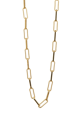 layered chain necklace duo