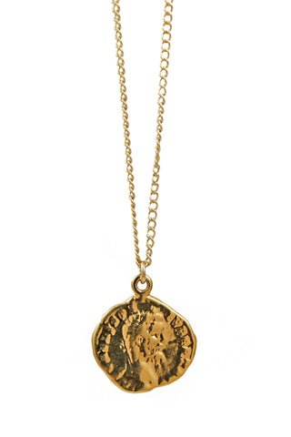 angel medallion necklace