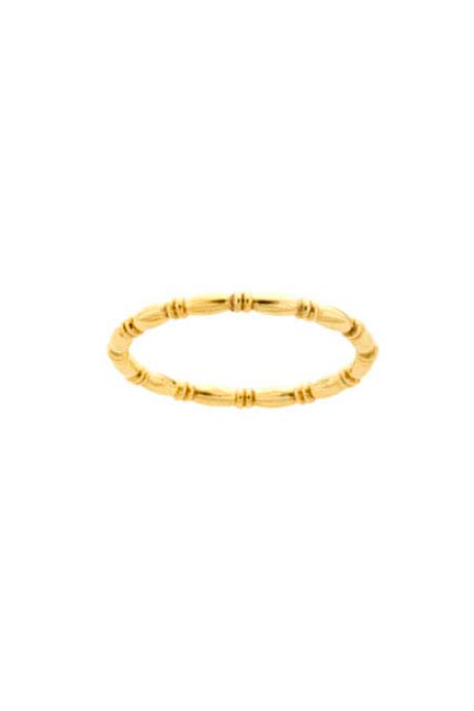 gold bamboo ring