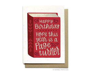 Birthday Card - Page Turner