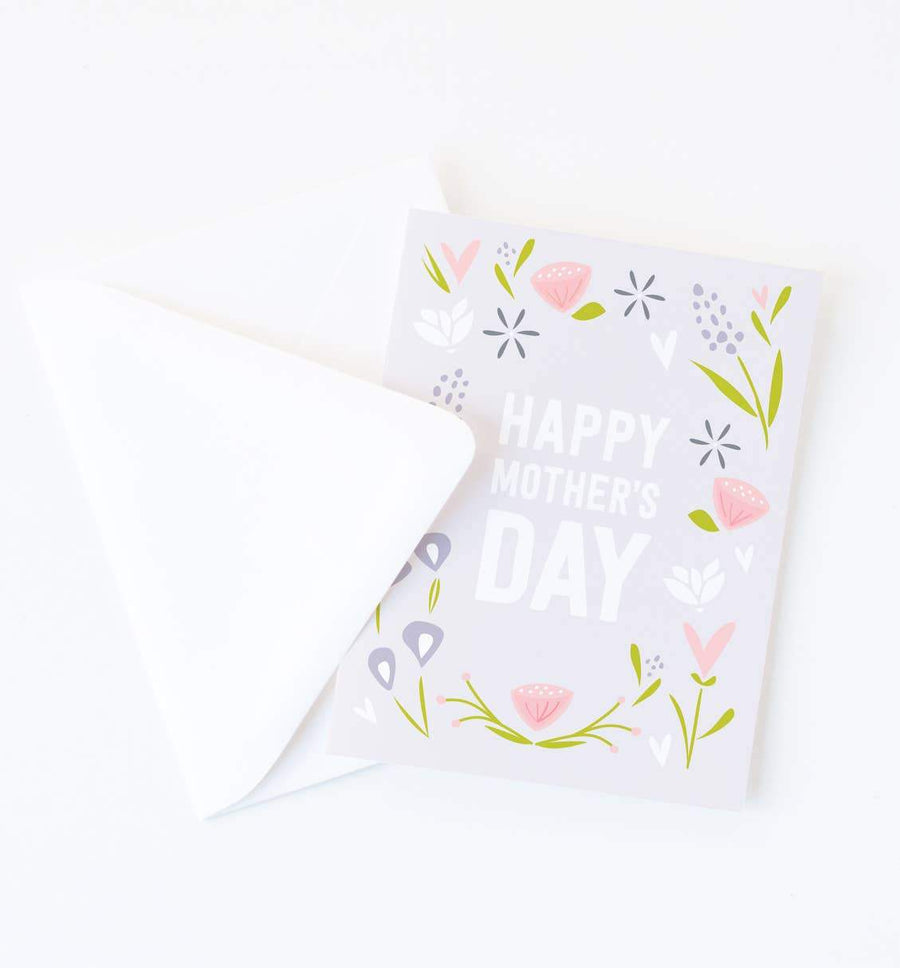 Mother's Day Card - Blooms Greeting Card