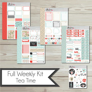 Full Weekly Kit - Tea Time