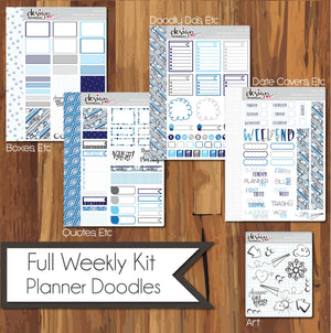 Full Weekly Kit - Planner Doodles