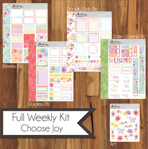 Full Weekly Kit - Choose Joy