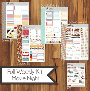 Full Weekly Kit - Movie Night