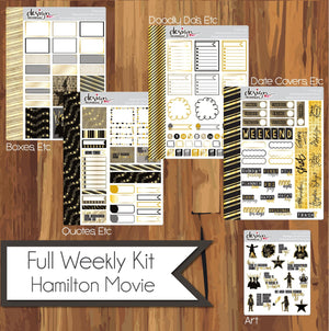 Full Weekly Kit - Hamilton The Movie