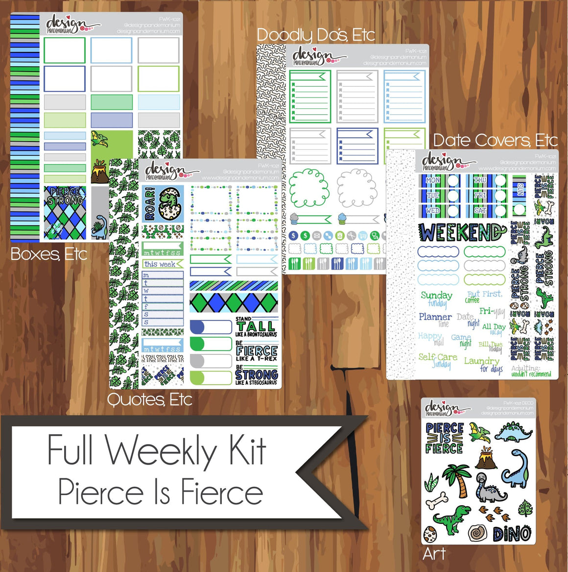 Full Weekly Kit - Pierce Is FIERCE