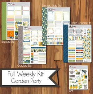 Full Weekly Kit - Garden Party