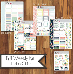 Full Weekly Kit - Boho Chic