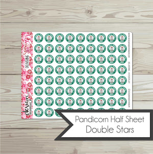 Pandicorn Half Sheet - Double Stars Day