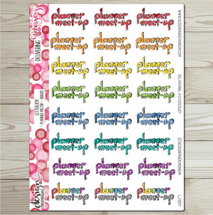 LetterJOY - Puffy Planner Meet Up
