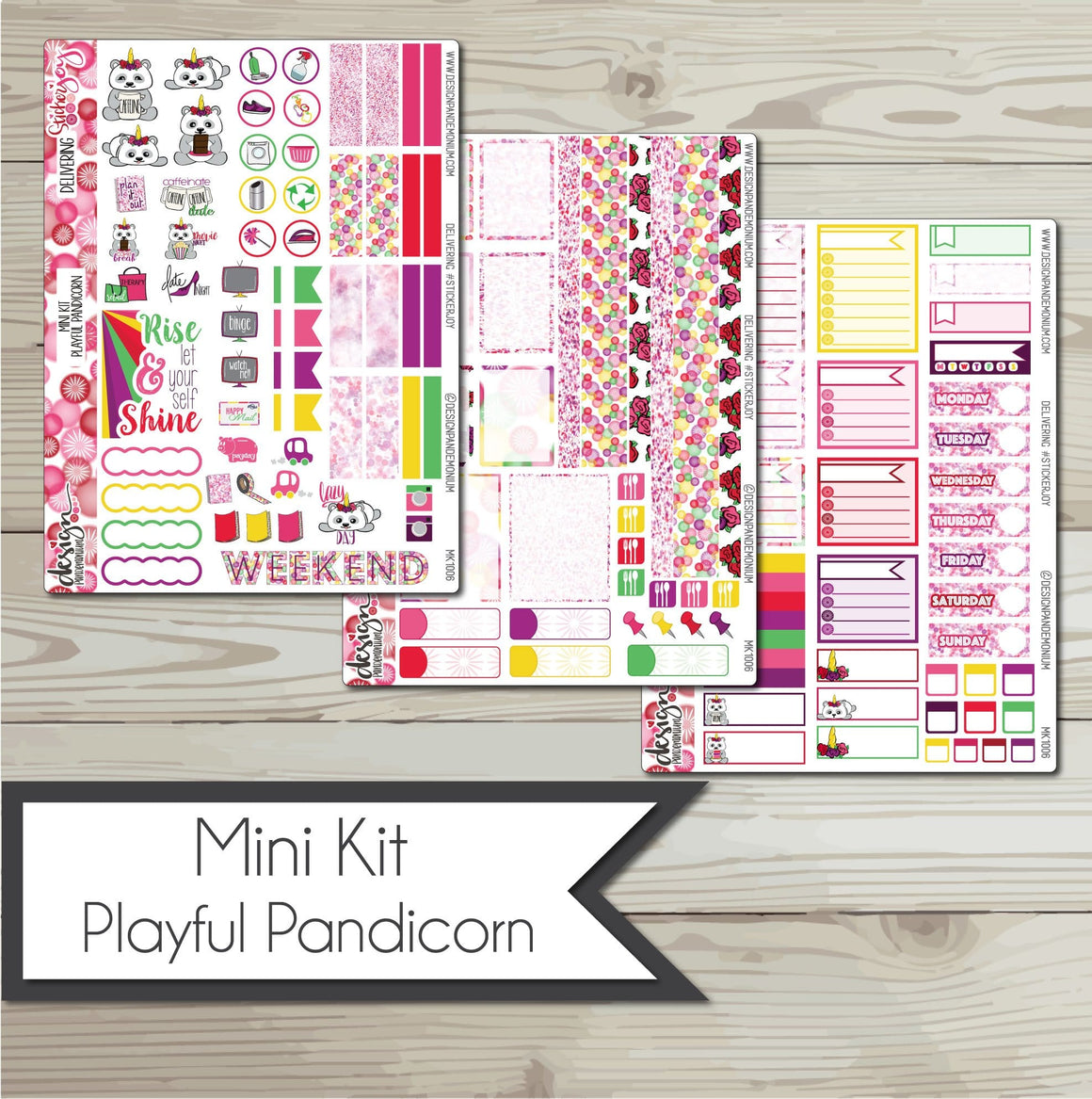 Mini Kit - Playful Pandicorn