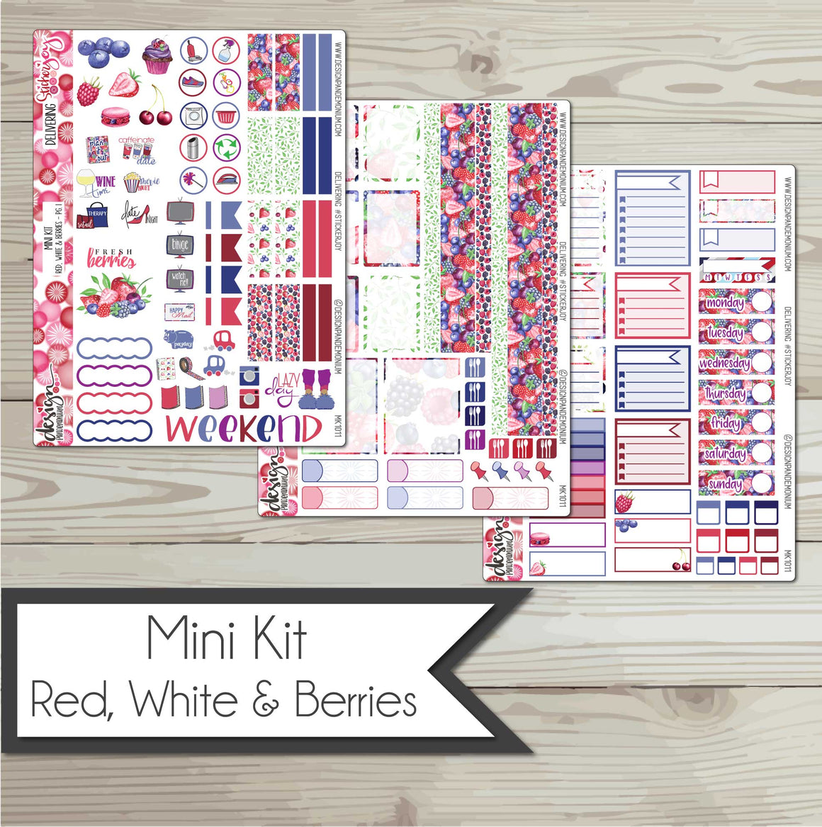 Mini Kit - Red, White & Berries
