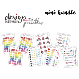 DP Portables Stickers - Mini Bundle