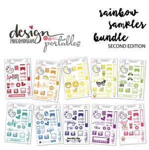 DP Portables Stickers - Rainbow Sampler Bundle V2
