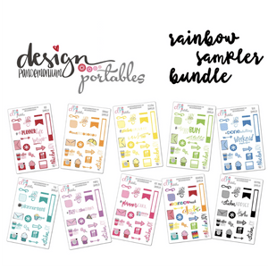 DP Portables Stickers - Rainbow Sampler Bundle