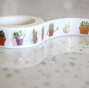 DP Designer Foil  Washi - Succulents
