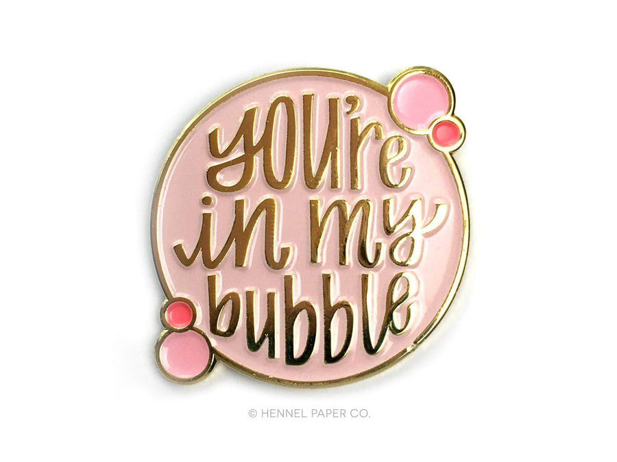 Enamel Pin - Bubble