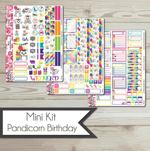 Mini Kit - Pandicorn Birthday