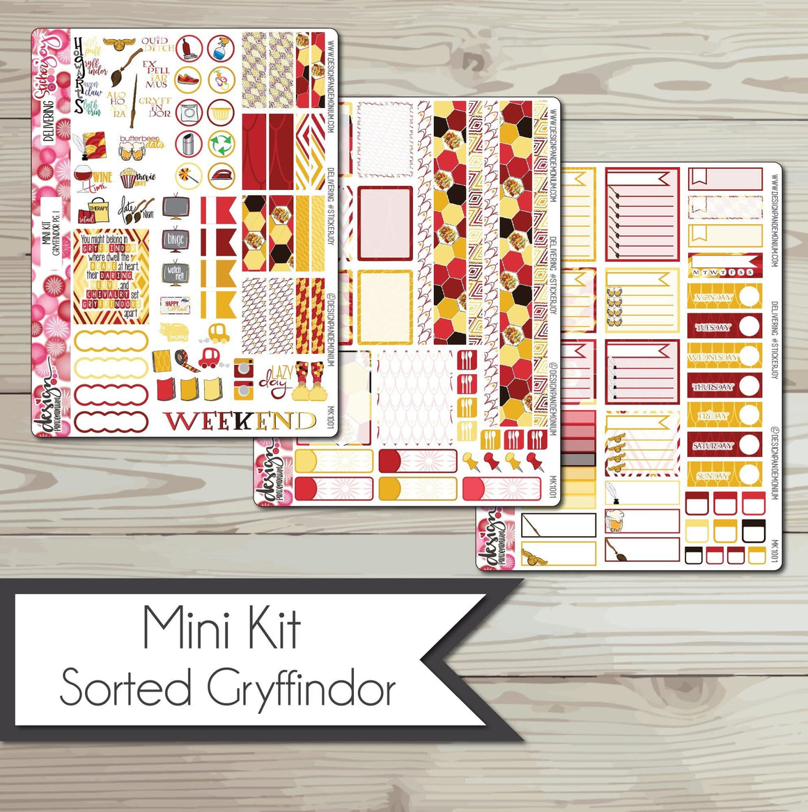 Mini Kit - Hogwarts Houses