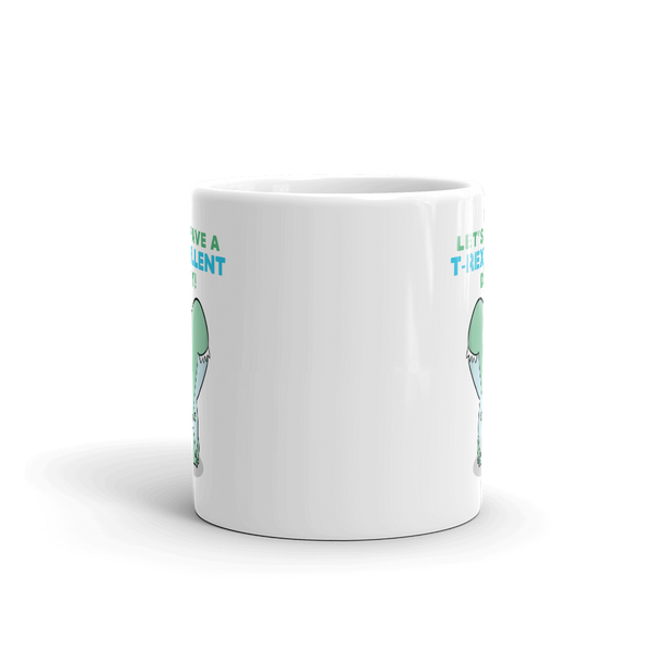 Cute Dino Ceramic Mug, Kawaii Housewares, Cute Dinosaur Gifts