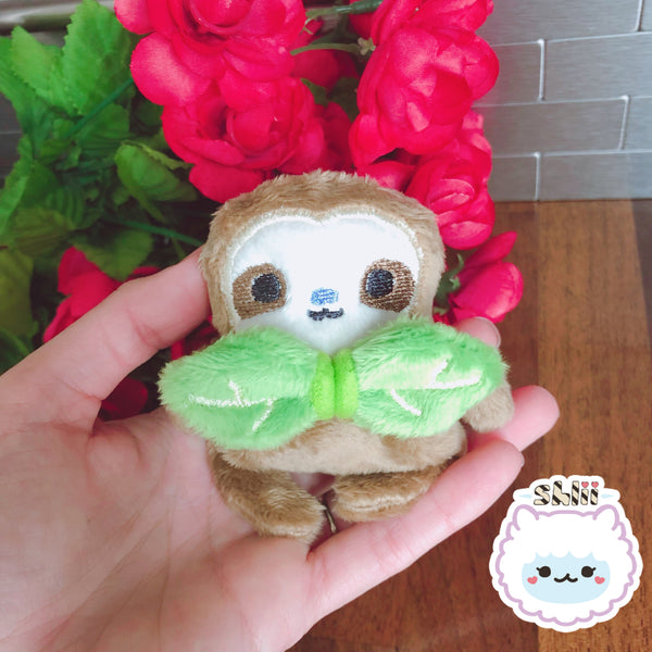 Baby Dapper Sloth Handmade Miniature Doll