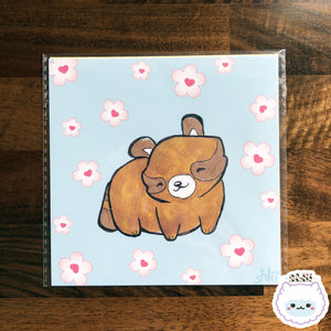 Kawaii Bandits Mini Art Print