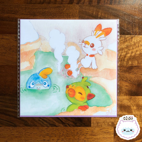 Hot Springs Starters Mini Art Print