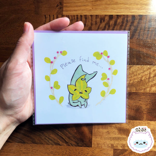 Sad Korok Mini Art Print