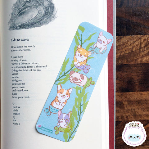 Kawaii Merdogs Bookmark