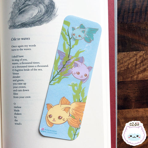 Kawaii Catfish Bookmark