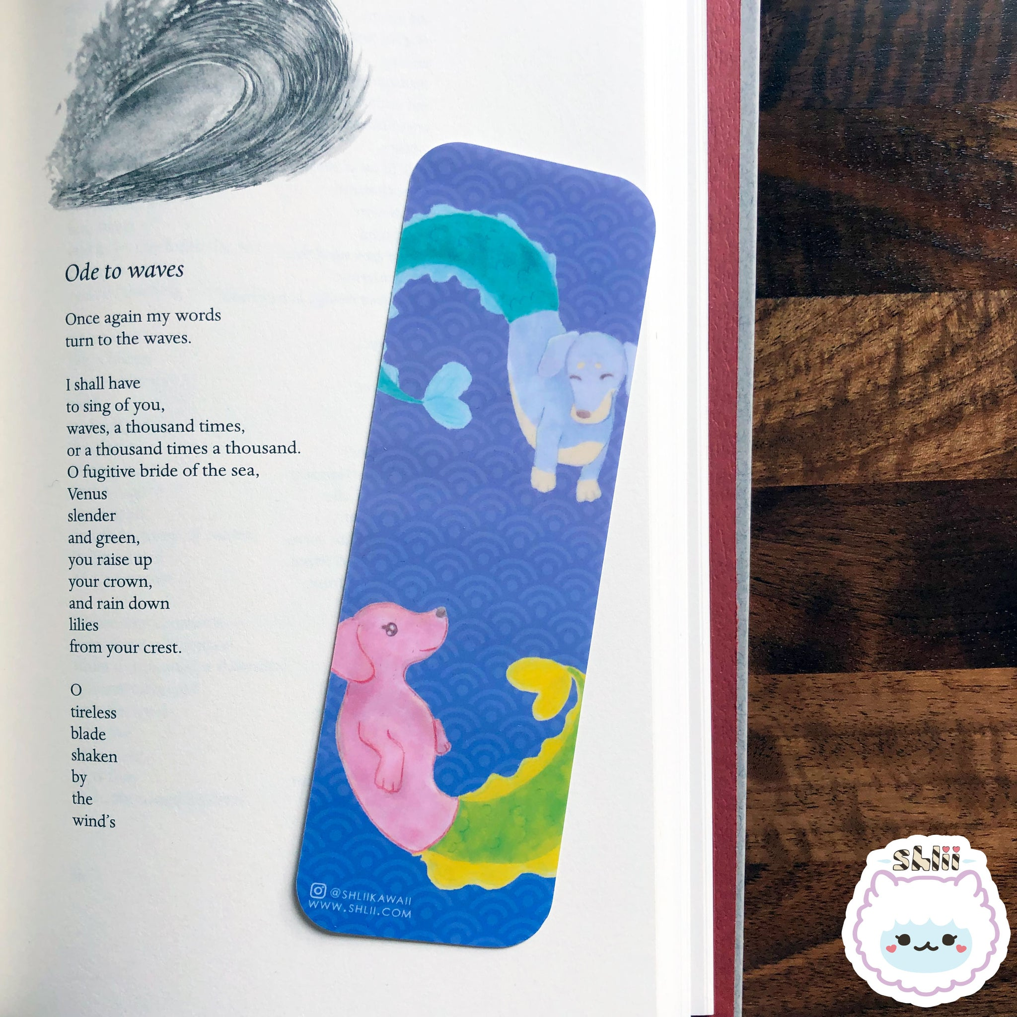 Kawaii Merdoxie Bookmark