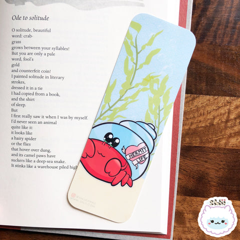 HermitLife Crab Bookmark