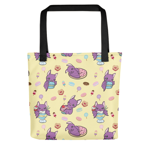 Sweet Tooth Bats Cute Tote Bag