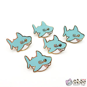 Baby Shark Pin, Shark Enamel Pin, Cute Shark Pin
