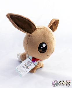 Cute Eevee, Eevee Doll, Baby Eevee Plush, Kawaii Handmade Plush Toy, Kawaii Eevee