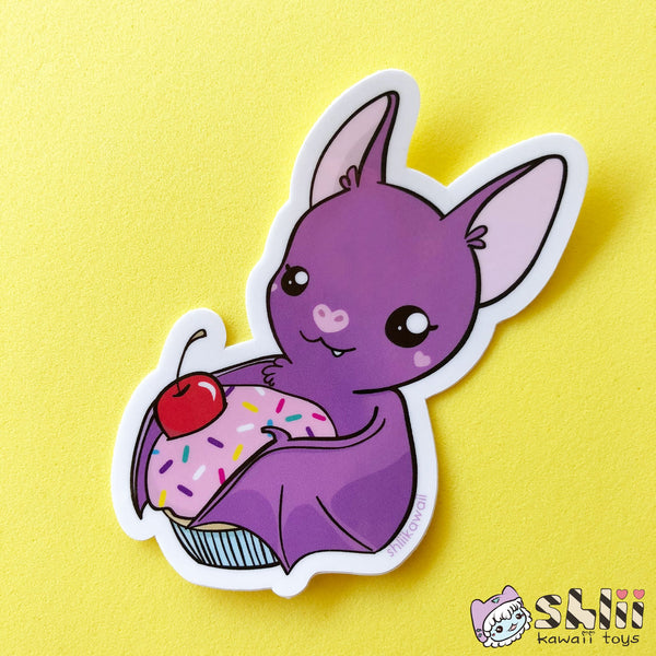 Sweet Tooth Bat Vinyl Sticker
