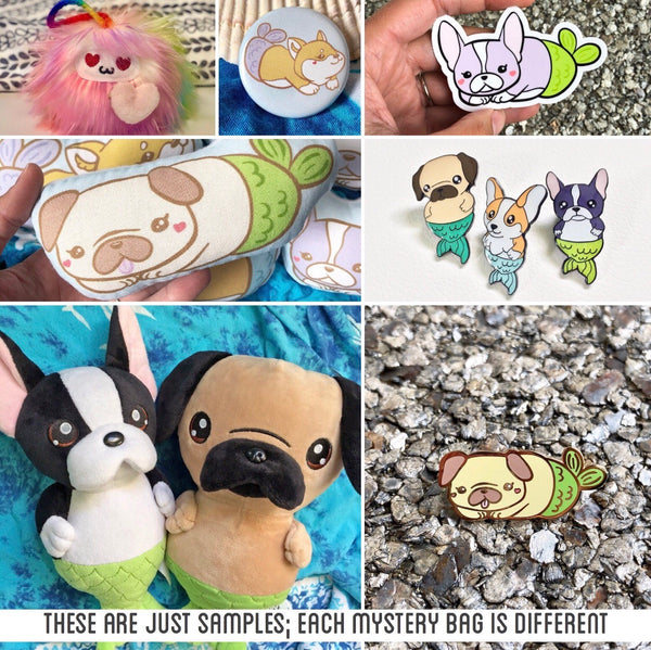 Shlii Kawaii Mystery Art Accessories Grab Bag