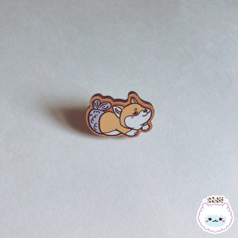 Shlii Merdogs Mershiba Wooden Pin