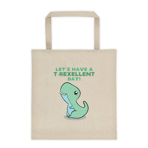 Cute Dino Canvas Tote bag