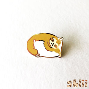 Cute Sloth Pin, Cute Sloth Pin, Kawaii Pin, Kawaii Sloth, Enamel Pin, Love Sleep, Sleepy Sloth