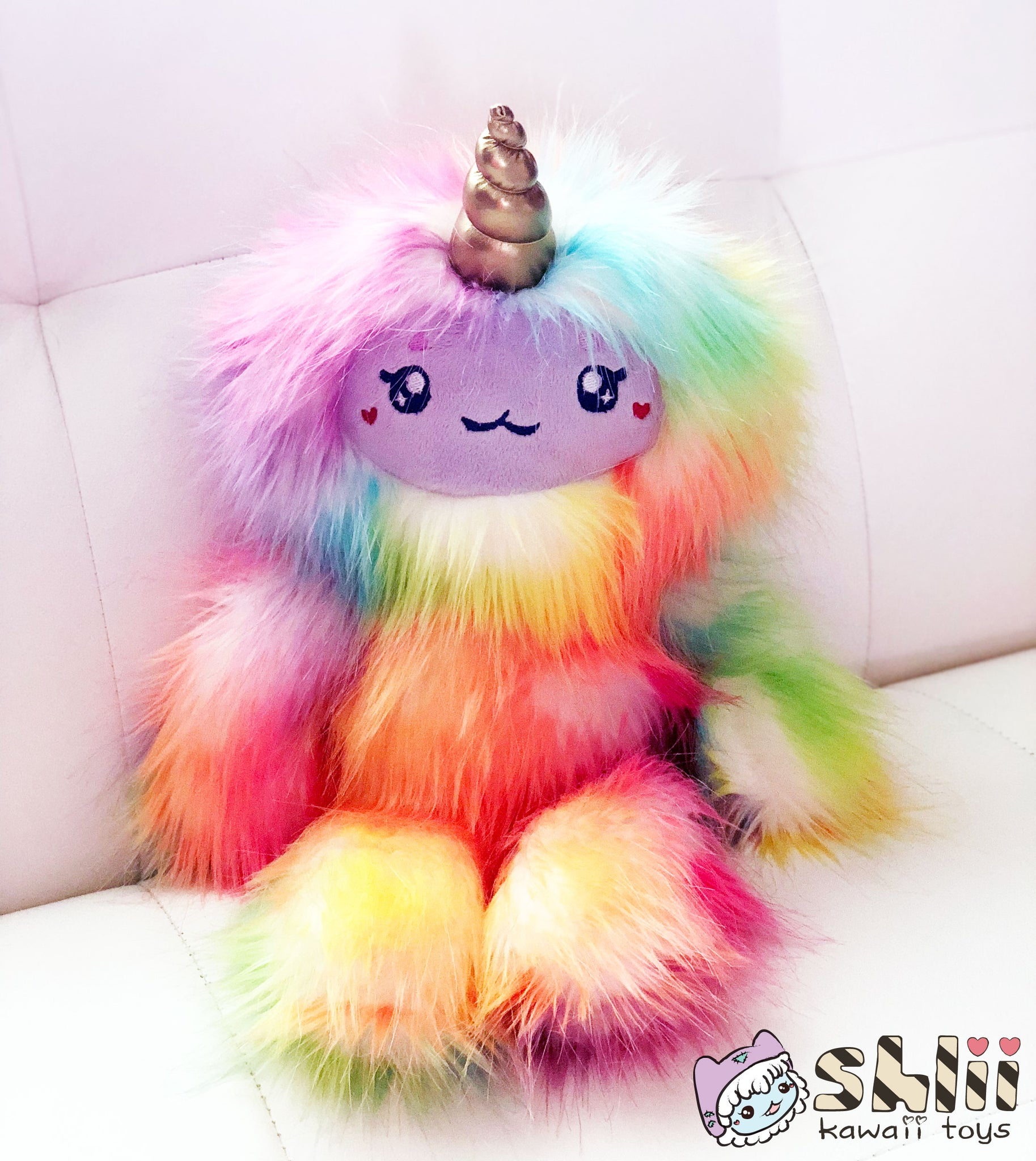 Yeti Unicorn Yeticorn Handmade Plush Doll