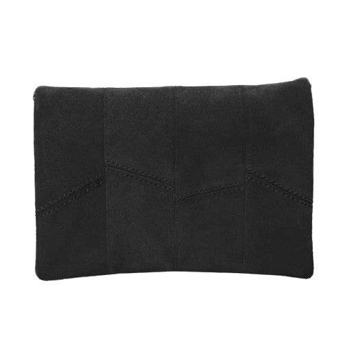 Only The Essentials Clutch In Black