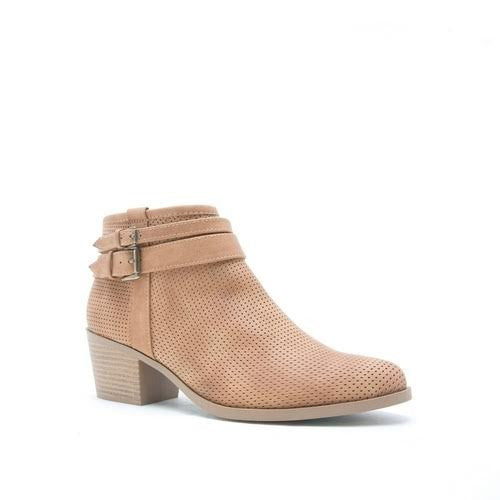 Portland By Morning Bootie In Tan