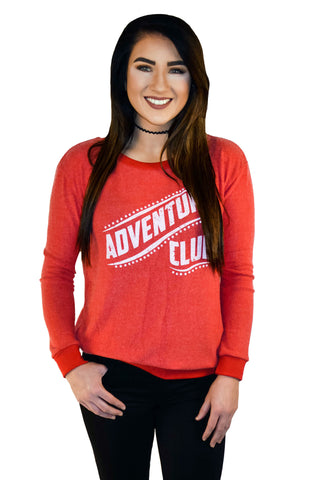 Adventure Club Graphic Sweater