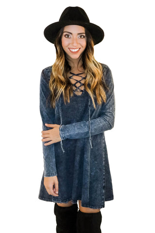 In Favor Of Fun Denim Dress